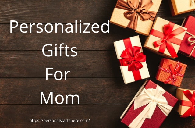 personalize gifts for mom